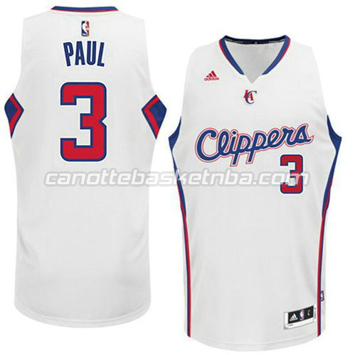 canotta chris paul #3 los angeles clippers 2014-2015 bianca