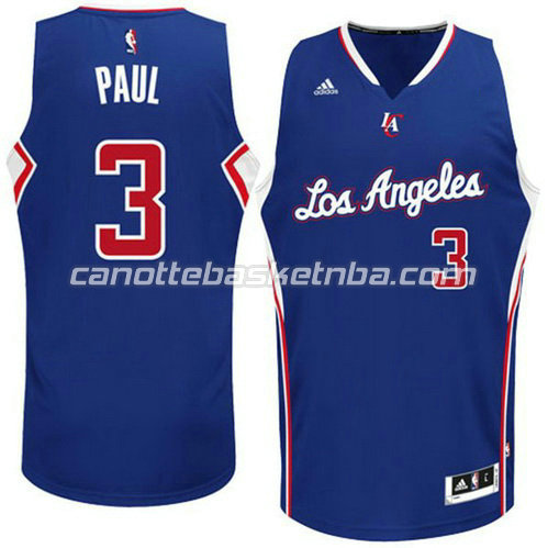 canotta chris paul #3 los angeles clippers 2014-2015 blu