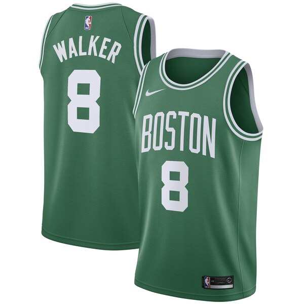 maglia NBA Kemba Walker 8 2019 boston celtics verde