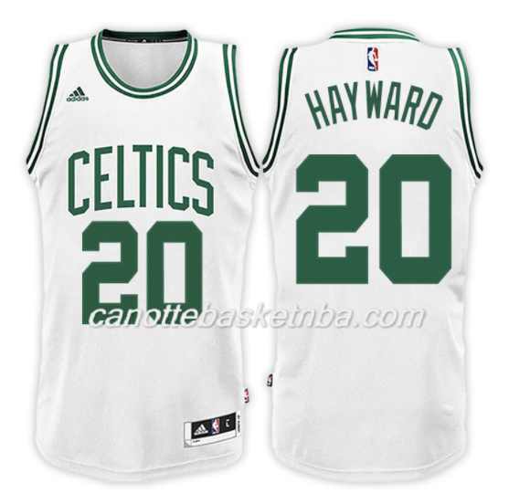 maglia NBA gordon hayward 20 2017-2018 boston celtics bianca