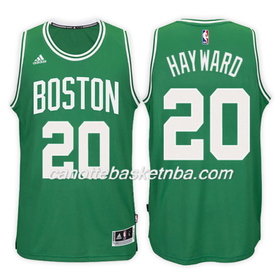 maglia NBA gordon hayward 20 2017-2018 boston celtics verde