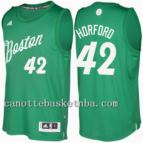 maglia al horford 42 Natale 2016-2017 boston celtics verde