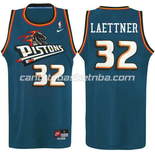 maglia ben wallace #32 detroit pistons alternato