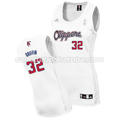 maglia donna blake griffin #32 los angeles clippers bianca