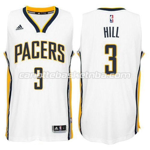 canotta george hill #3 indiana pacers 2014-2015 bianca