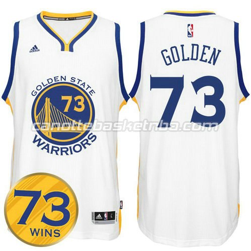 maglie nba golden state warriors 73 wins 2016 bianca