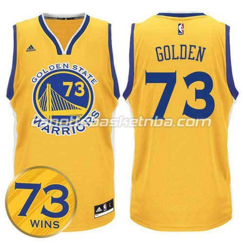maglie nba golden state warriors 73 wins 2016 giallo