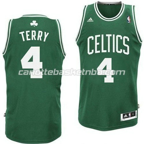 maglia boston celtics con jason terry #4 retro verde