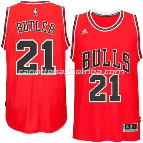 maglia jimmy butler #21 chicago bulls 2014-2015 rosso