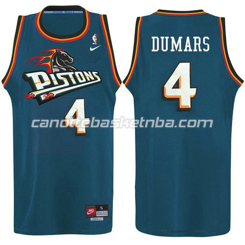 maglia joe dumars #4 detroit pistons alternato