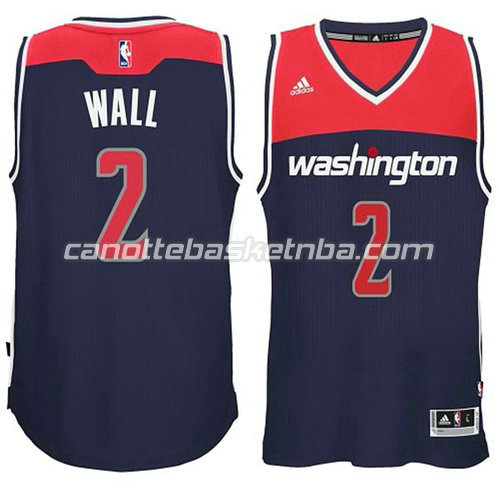 maglia john wall #2 washington wizards 2014-2015 blu