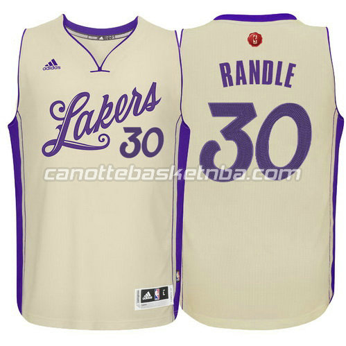maglia julius randle #30 los angeles lakers natale 2015 giallo