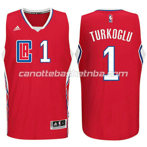 maglia lance stephenson #1 los angeles clippers 2015-2016 rosso