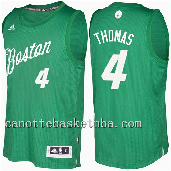 maglia isaiah thomas 4 Natale 2016-2017 boston celtics verde