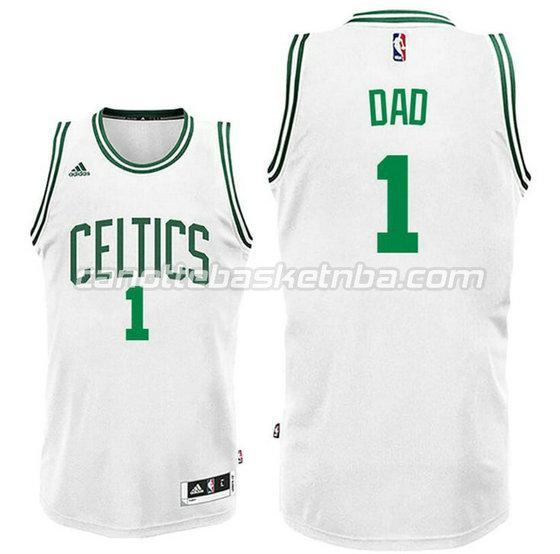 canotta dad logo 1 boston celtics 2015-2016 bianca