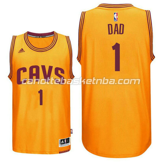 canotta dad logo 1 cleveland cavaliers 2016 giallo