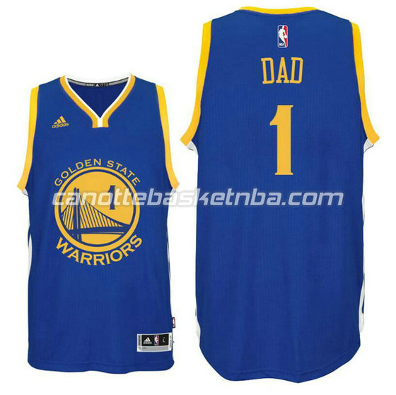 canotta dad logo 1 golden state warriors 2016 blu