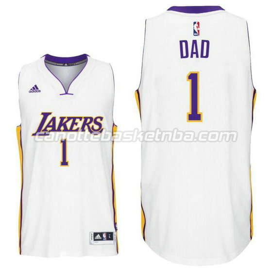 canotte nba los angeles lakers 2016 con dad logo 1 bianca 1