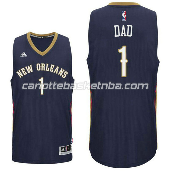 canotta dad logo 1 new orleans pelicans draft 2016 nero
