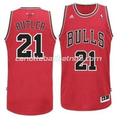 canotte basket bambini chicago bulls jimmy butler #21 rosso