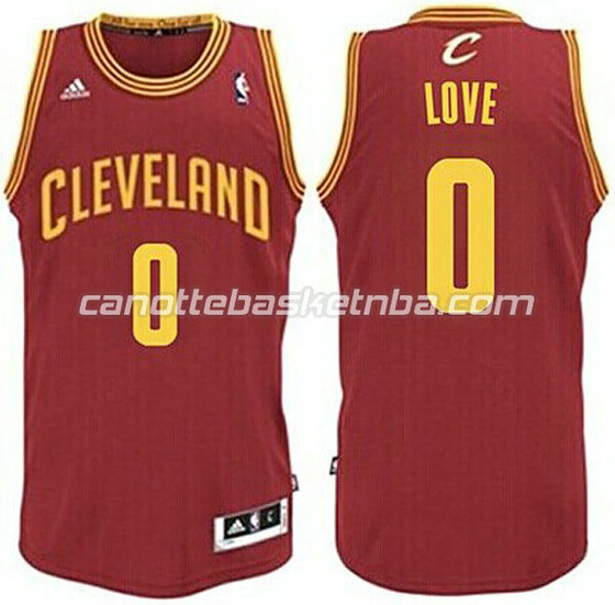 canotte basket bambini cleveland cavaliers kevin love #0 rosso