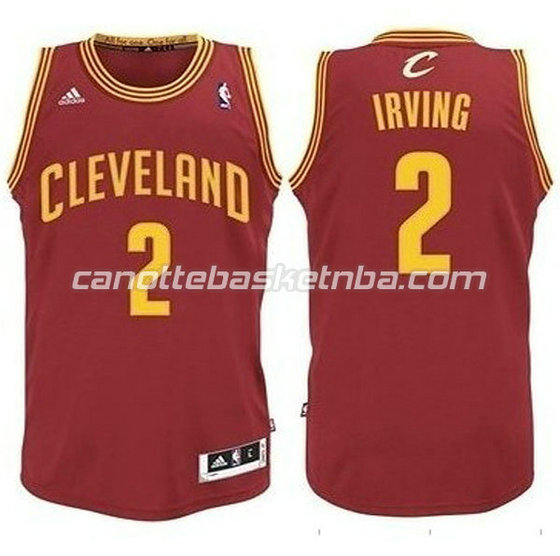 canotte basket bambini cleveland cavaliers kyrie irving #2 rosso