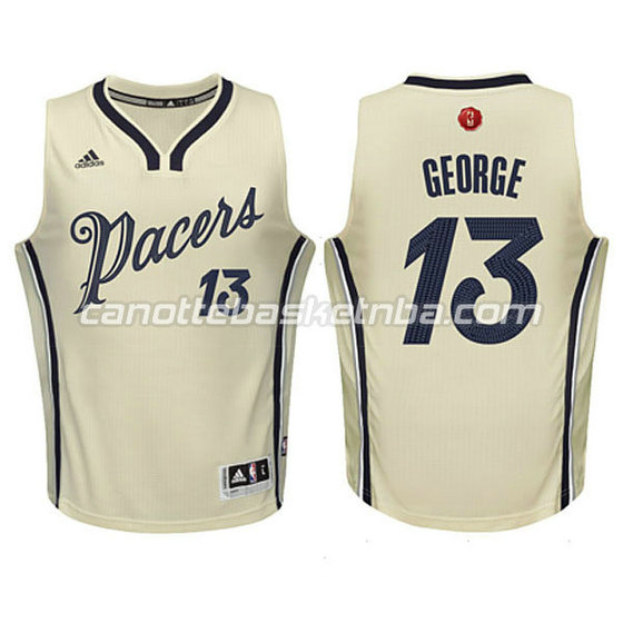 canotte basket bambini indiana pacers paul george #13 natale 2015