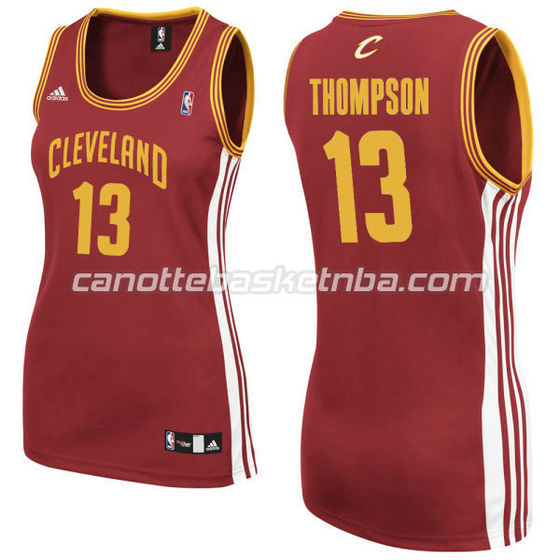 maglia basket donna tristan thompson #13 cleveland cavaliers rosso