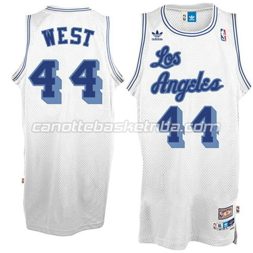 canotta jerry west #44 los angeles lakers soul bianca