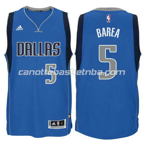 canotta nba jj barea #5 dallas mavericks 2015 blu