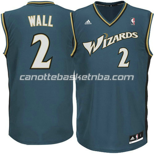 canotte john wall #2 washington wizards revolution 30 grigio