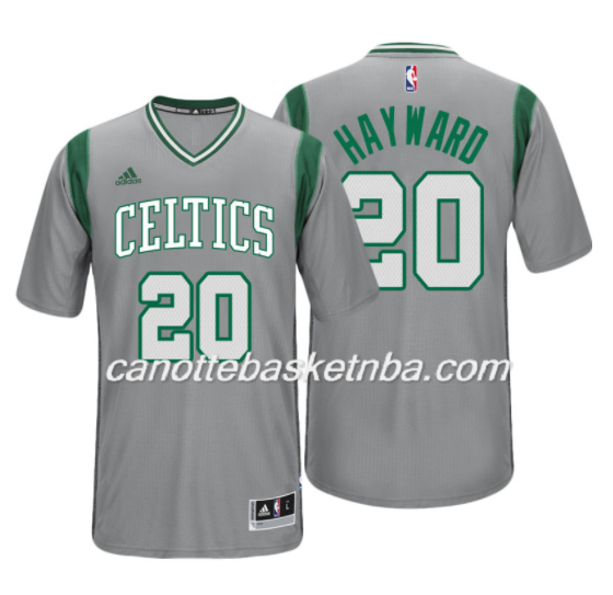 maglietta NBA gordon hayward 20 2017 boston celtics grigio
