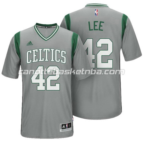 maglietta david lee #42 boston celtics alternato grigio