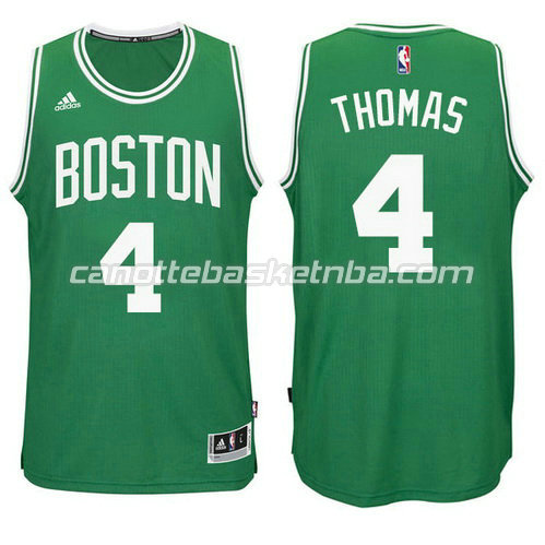 nuova canotta boston celtics con isiah thomas #4 verde