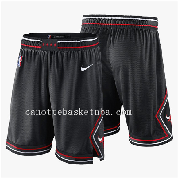 pantaloncini basket nba chicago bulls nero