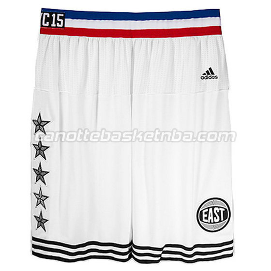 pantaloncini basket poco prezzo nba all star 2015 bianca