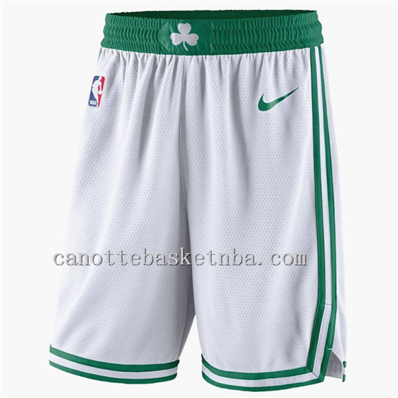 pantaloncini basket nba poco prezzo boston celtics bianca