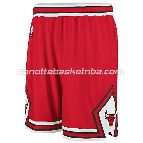 pantaloncini basket nba chicago bulls rosso