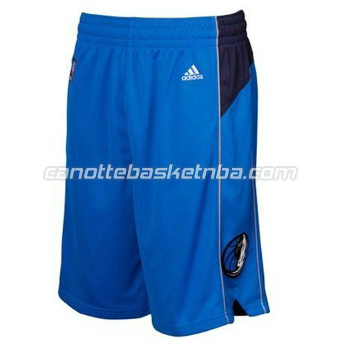pantaloncini basket nba poco prezzo dallas mavericks blu