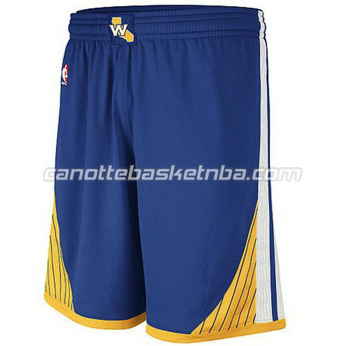 pantaloncini basket golden state warriors swingman blu