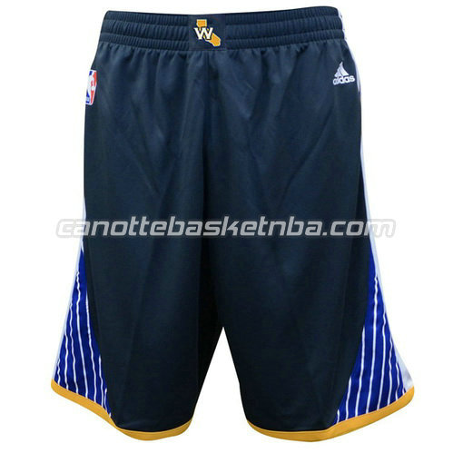 pantaloncini nba golden state warriors swingman nero