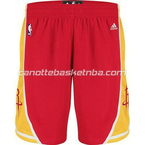 pantaloncini basket houston rockets alternato rosso