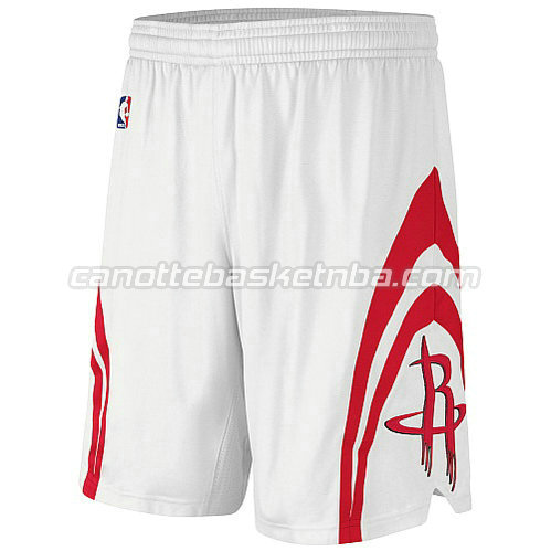 pantaloncini nba houston rockets revolution 30 bianca