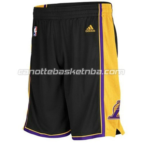 pantaloncini basket poco prezzo los angeles lakers nero