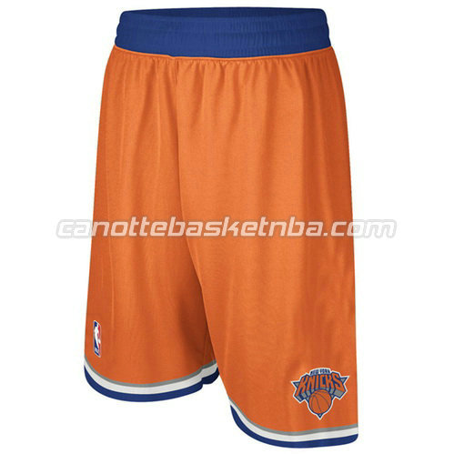 pantaloncini basket nba poco prezzo new york knicks arancia