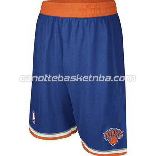 pantaloncini basket nba poco prezzo new york knicks blu