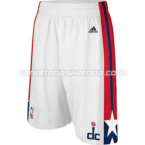 pantaloncini basket poco prezzo washington wizards bianca